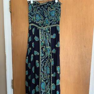 Dresses & Skirts - Strapless Maxi dress size Medium